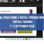 Cyber Law, Cyber Crime and Digital Forensic Investigator September 2020